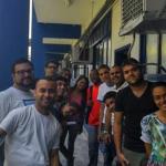 Grupo de alunos da Universidade da Correria: eles participam das atividades e desenvolvem startups (Foto: Divulgação)