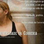 A aluna Priscila Rafael, depois de ir a um encontro de empreendedorismo, criou coragem para criar o próprio negócio (Foto: Divulgação) Projeto se sustenta atualmente por meio da venda de camisetas (Foto: Divulgação)